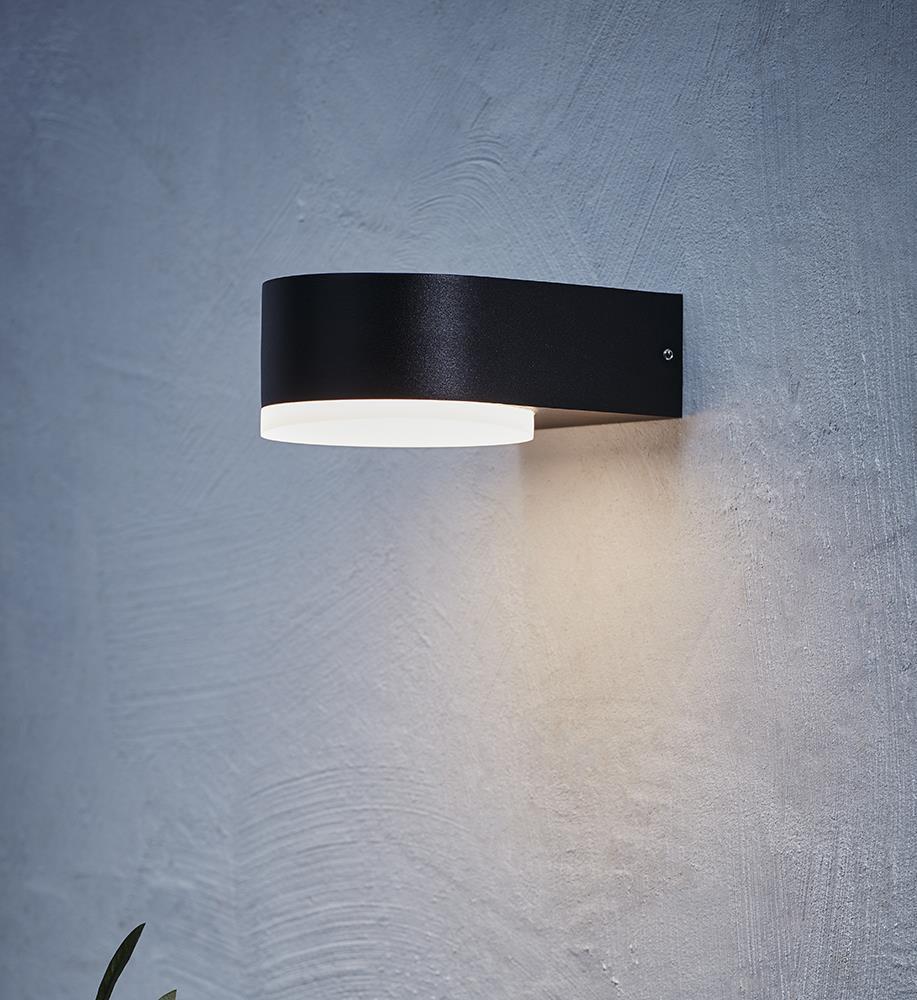 MONZA Wall light 1L Black