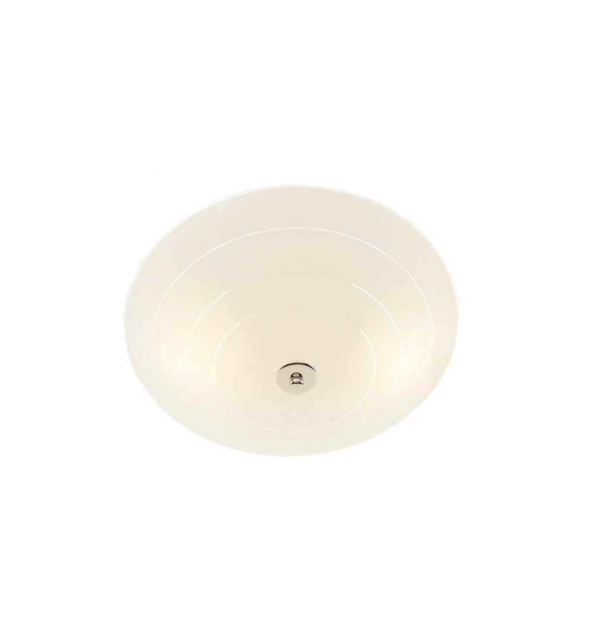 PRESTON LED Plafon 35cm White / Chrome