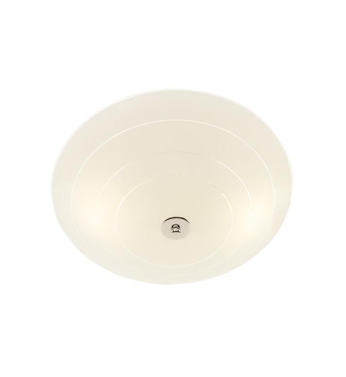 PRESTON LED Plafon 43cm White / Chrome