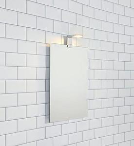 RENNES Wall light Chrome IP44 small 1