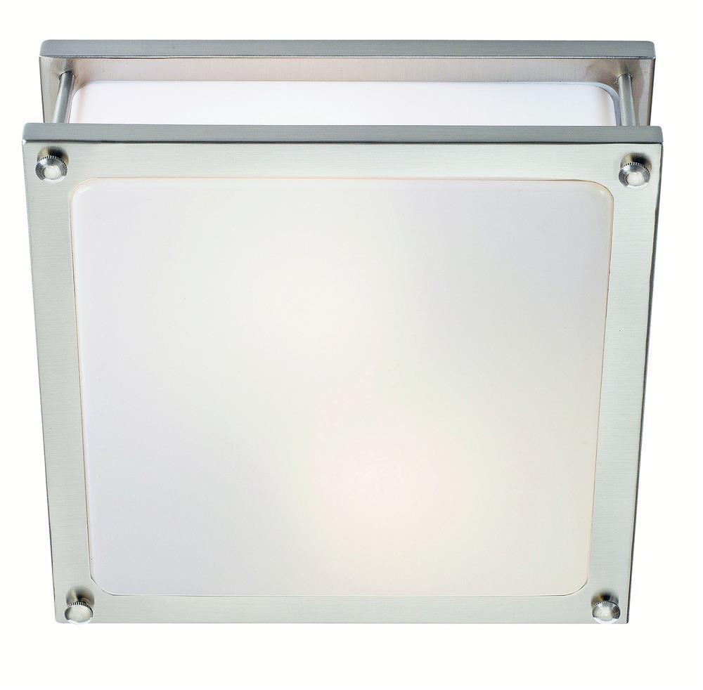 RESARÖ Plafond 2L Steel IP44