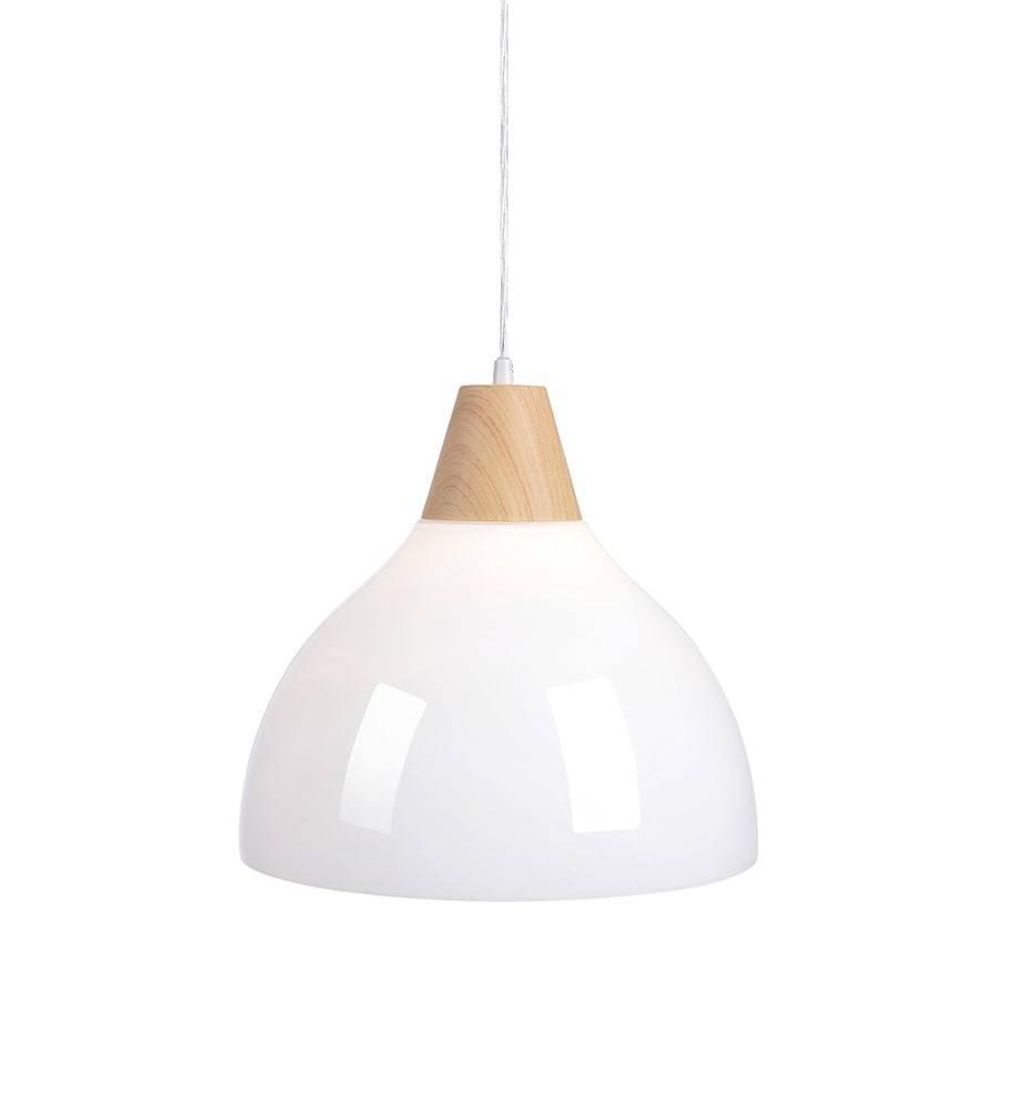 SAPPORO Hanging 1L 32cm Wood Print / White Opal