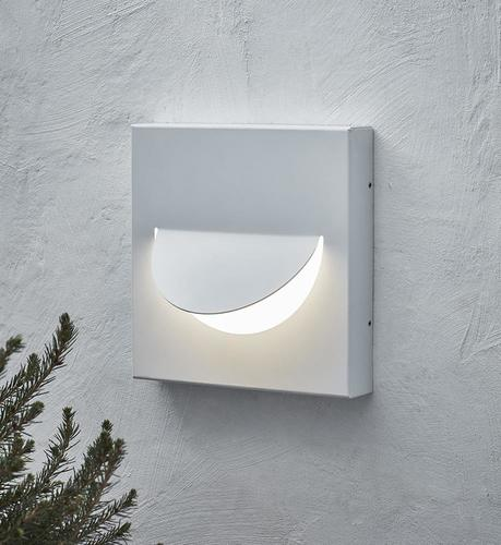 SMILE Wall light White