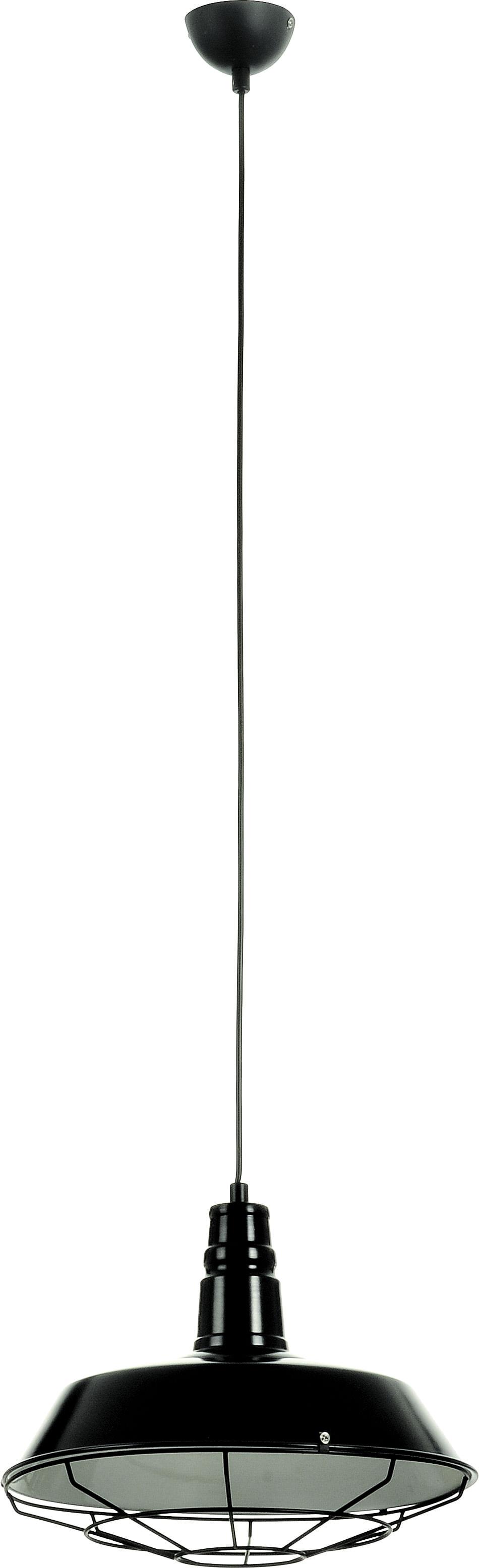 Industrial Pendant Lamp Loft Black 60W