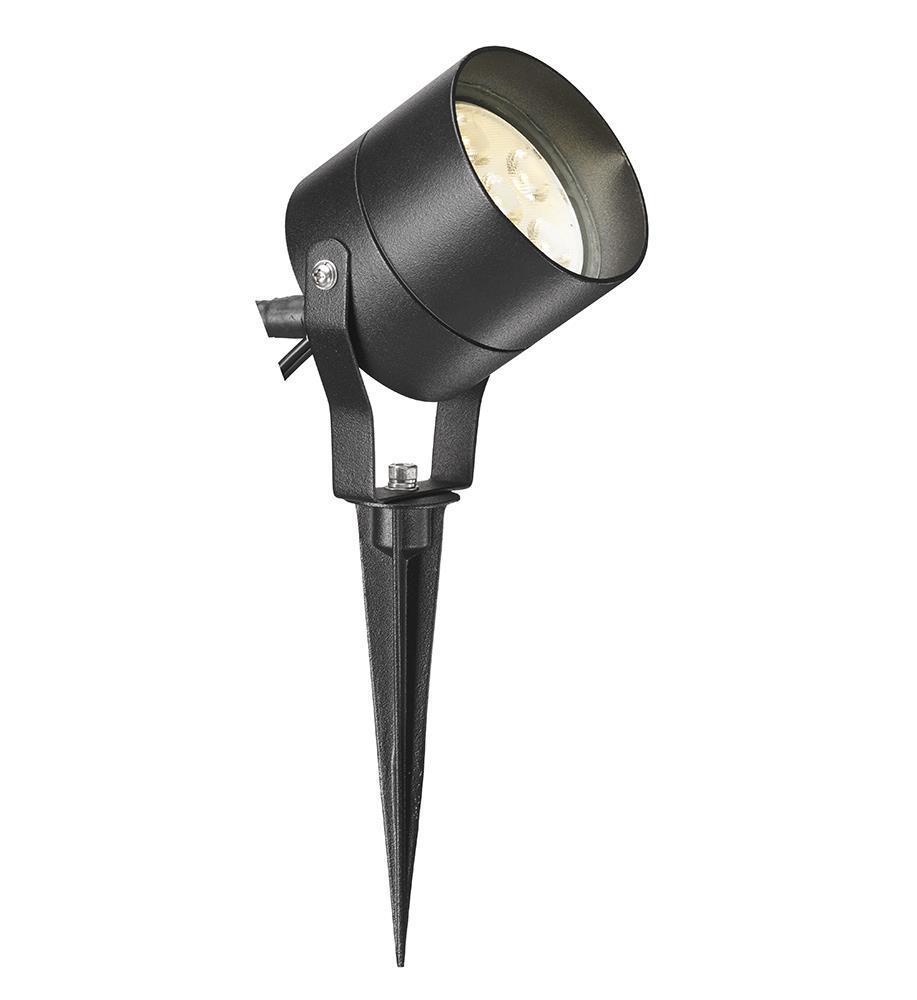 TRADGARD Spotlight 6x1W Black