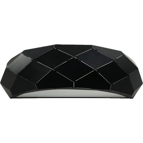 Reus black wall lamp
