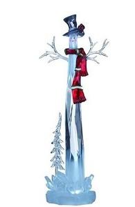 Figurka dekoracyjna na Święta DIMLE bałwanek LED