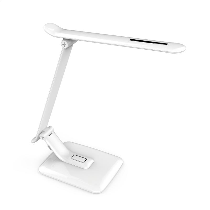 Table lamp white PIXI 12W + USB