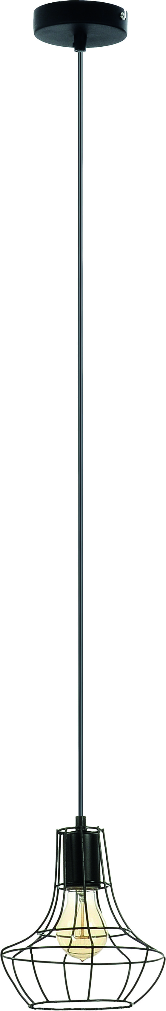 Hanging lamp Outline Wire 60W cage