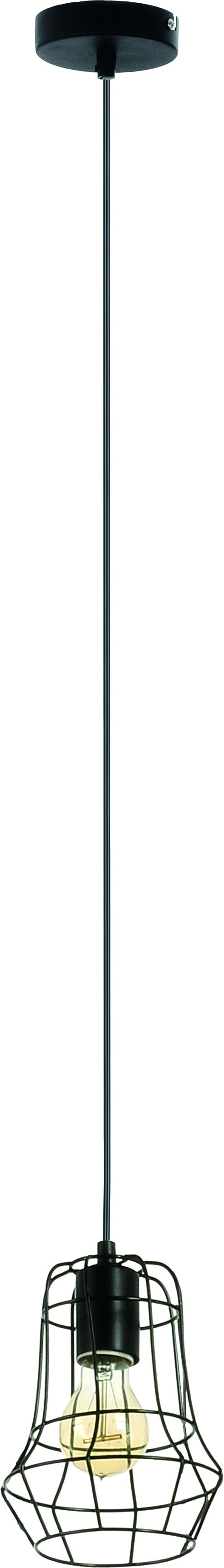 Hanging lamp Loft Black 60W