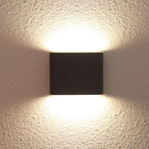 Outdoor wall lamp Sapri black IP54