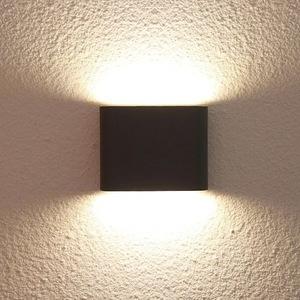 Outdoor wall lamp Sapri black IP54 small 1