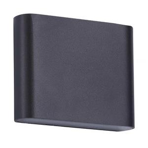 Outdoor wall lamp Sapri black IP54 small 0