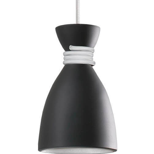 Black and white Noreen Pendant Lamp