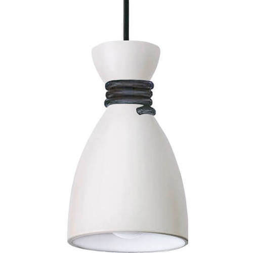 White and black Tessa Pendant Lamp