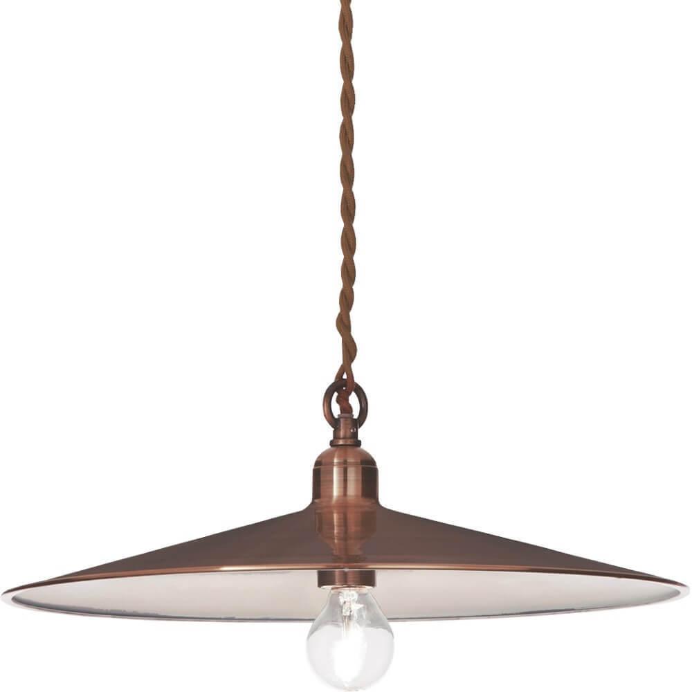Antique-copper Aurelia Pendant Lamp