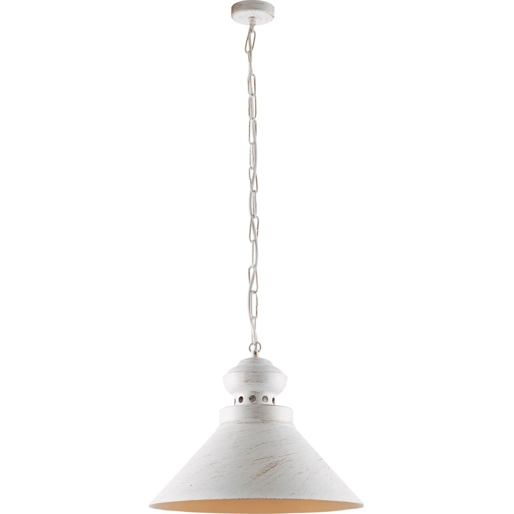 White and gold Metal Hazel Pendant Lamp