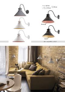 Beat-gold Metal Charlie Wall Lamp small 0