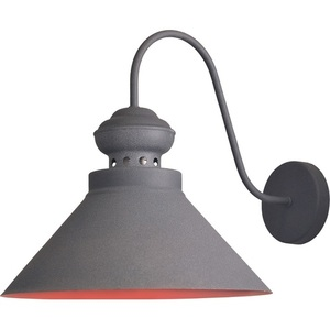 Gray-brown Metal Wendy Wall Lamp small 1