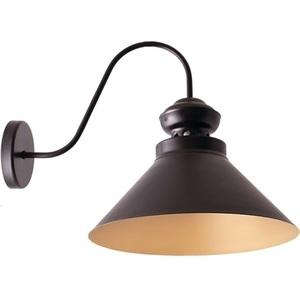 Czarny ze złotem Lampa Kinkiet Frank 2