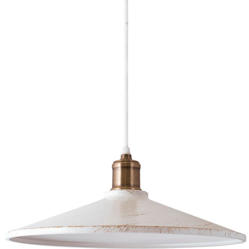 White and gold Jasmine Pendant Lamp