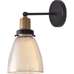 Ambre Glass Pendant Lamp May small 1