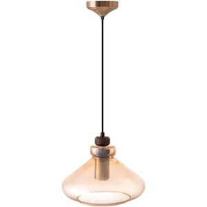 Ambre Glass Justine Pendant Lamp small 1