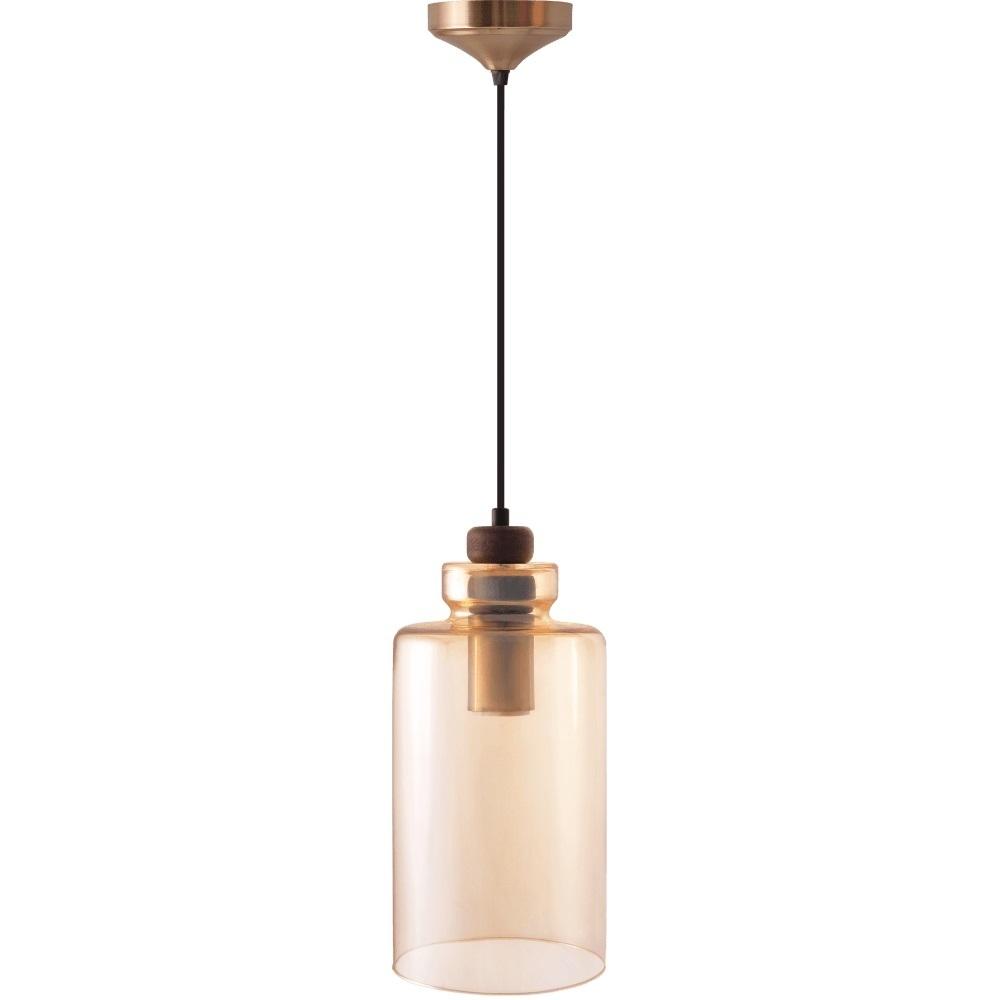 Ambre Glass Marina Pendant Lamp