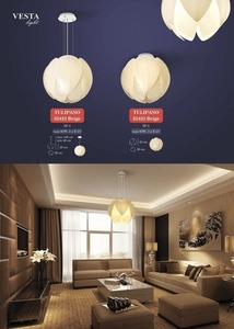 Beige Berta ceiling lamp small 1