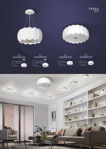 White Audrey Pendant Lamp small 1