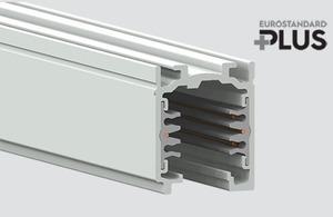 Busbars EUROSTANDARD PLUS length 100cm (RAL 9010) STUCCHI white small 0
