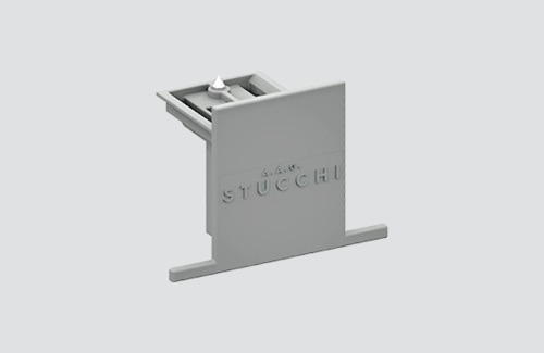 9004-R / B STUCCHI stainless steel recessed mounting plate