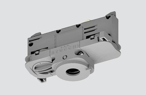 DALI 9009 / W STUCCHI binding adapter with white, black and gray phase selector small 0