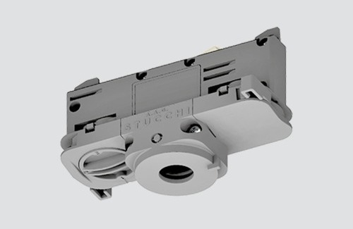 DALI 9009 / W STUCCHI binding adapter with white, black and gray phase selector
