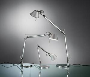 Table lamp Artemide Tolomeo Aluminum (halogen) small 1
