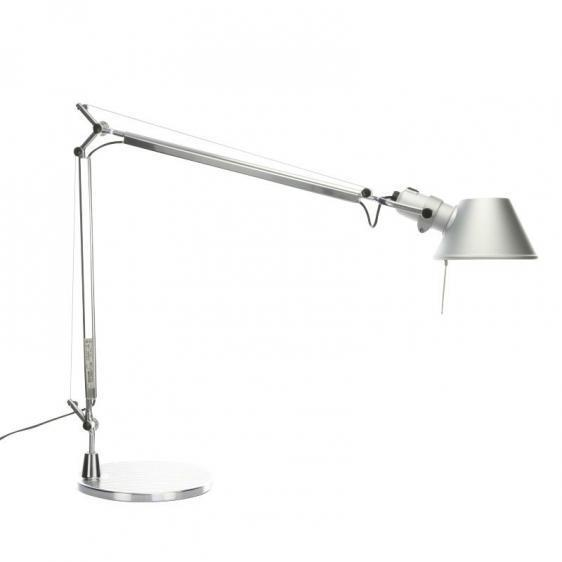 Table lamp Artemide Tolomeo Aluminum (halogen)