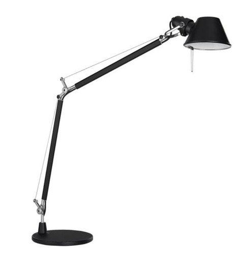 Table lamp Artemide Tolomeo black