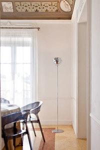 Floor lamp FABBIAN Beluga chrome D57C0115 small 3