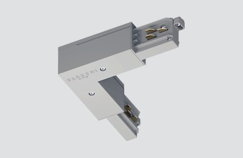 External angle connector - type L, STUCCHI, white, black, gray