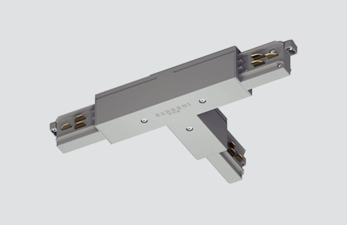 Outer connector RIGHT - type T, STUCCHI, white black, gray