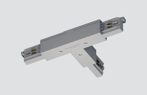External connector LEFT - type T, STUCCHI, white, gray, black