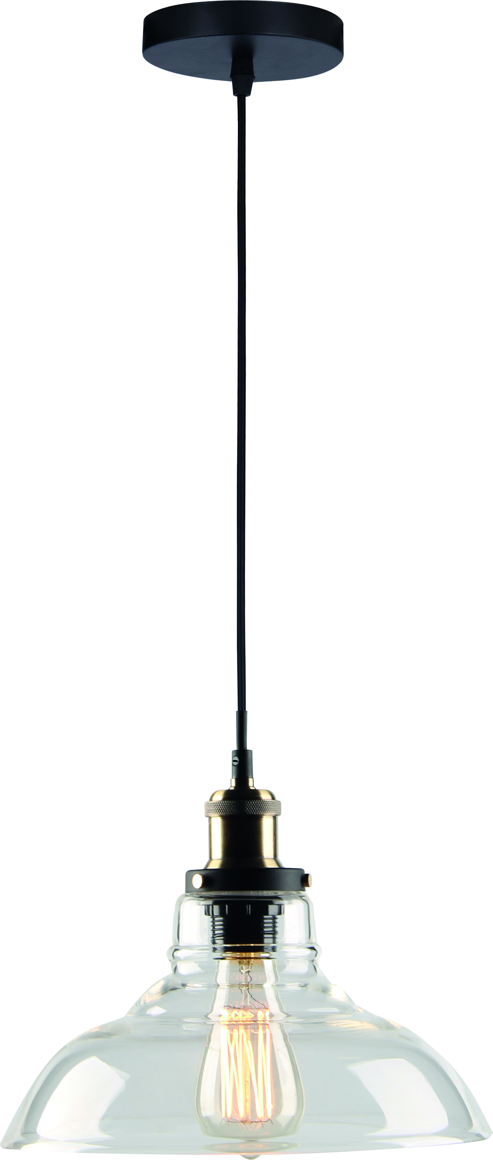 Loftowy Glass pendant lamp Conrad