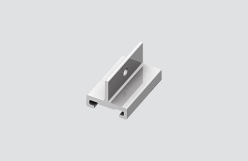 Uchwyt do zawiesia krótki STUCCHI, aluminium, czarny, biały
