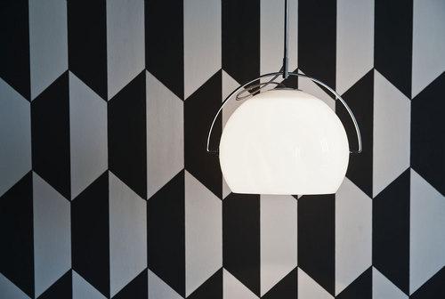 Hanging lamp Fabbian Beluga White D57 5W 14cm - D57A19 01