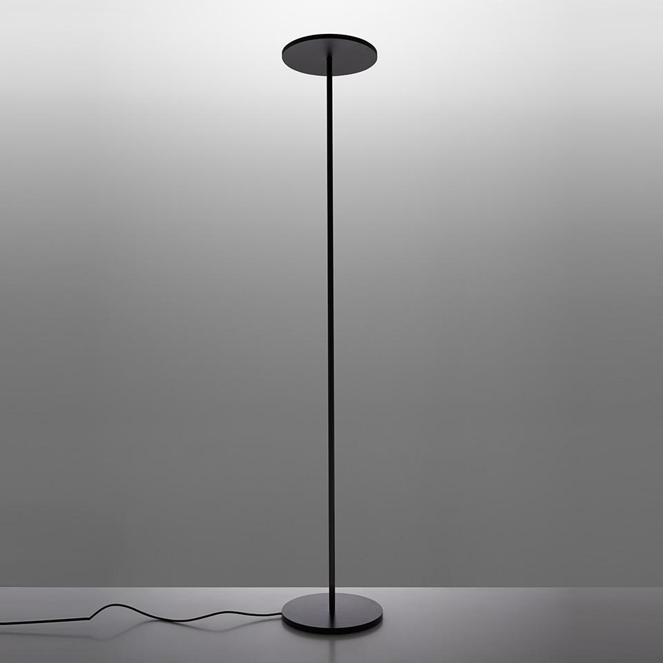 Floor lamp LED Artemide ATHENA black (2700K)