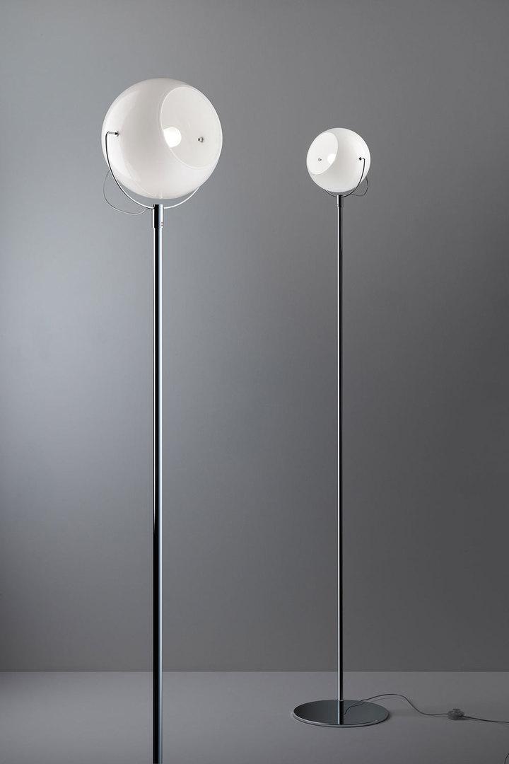 Floor lamp FABBIAN Beluga White D57C1101