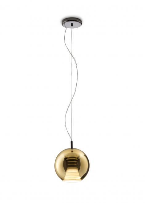 Hanging lamp FABBIAN Beluga Royal GOLD D57A5112 (SMALL - 20cm)