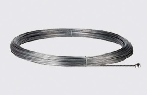 Steel cable with a spherical end - length 3000 mm, diam. 1.5 mm, STUCCHI, steel