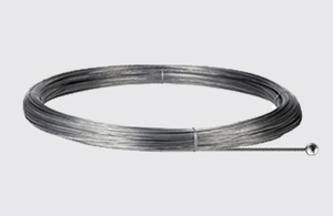 Steel cable with a spherical tip - length 5000 mm, STUCCHI, steel small 0