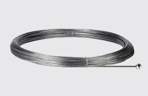 Steel cable with a spherical tip - length 5000 mm, STUCCHI, steel